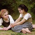 The Nut Gatherers by William-Adolphe Bouguereau