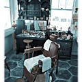 The Old American Barbershop by Mal Bray