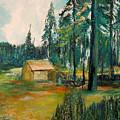 The Old Cabin by Richard Beauregard