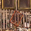 The Old Cooper House Front Grate by Lenore Senior
