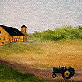 The Old Green Tractor by Timothy Smith