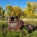 The Old Truck  Chama New Mexico by Kurt Van Wagner