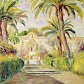 The Palm Trees by Pierre Auguste Renoir