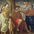 The Poets Inspiration by Nicolas Poussin