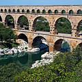 The Pont Du Gard by Sami Sarkis
