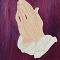 The Praying Hands by Ruth  Housley