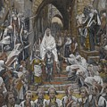 The Procession In The Streets Of Jerusalem by Tissot
