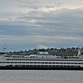 The Puyallup Ferry In Seattle by Carol  Eliassen