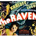 The Raven, From Left Boris Karloff by Everett
