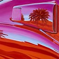 The Real Scoop On Shelby - Inaugural  Las Vegas Concours Poster Art by Lynn Masters