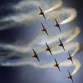 The Red Arrows by Angel  Tarantella
