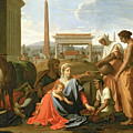 The Rest On The Flight Into Egypt by Nicolas Poussin