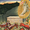 The Resurrection by Master of the Osservanza
