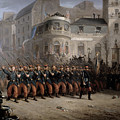 The Return Of The Troops To Paris From The Crimea by Emmanuel Masse