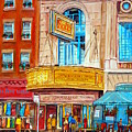 The Rialto Theatre Montreal by Carole Spandau