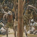 The Scourging On The Back by Tissot