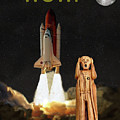 The Scream World Tour Space Shuttle Wow by Eric Kempson