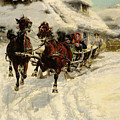 The Sleigh Ride by JFJ Vesin