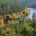 The Spokane River  by Ben Upham III