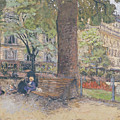 The Square At Vintimille by Edouard Vuillard