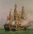 The Taking Of The Kent by Ambroise Louis Garneray