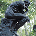 The Thinker By Rodin by Carl Purcell