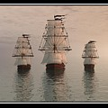 The Three Ships by William  Ballester