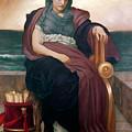 The Tragic Poetess by Frederic Leighton