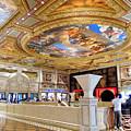 The Venetian Hotel Lobby by Julie Niemela