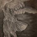 The Victory Of Samothrace by Julianna Ziegler