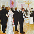 The Wedding Reception by Jean Beraud