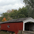 The West Union Covered Bridge by John McAllister