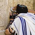 The Western Wall, Jewish Man Wearing by Richard Nowitz