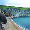 The White Cliffs Of Dover by M Schaefer