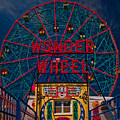 The Wonder Wheel At Luna Park by Chris Lord