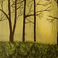 The Woods by Modern  Palette Art