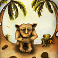 Thinking About Coconuts by Leah Saulnier The Painting Maniac