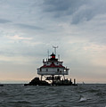 Thomas Point Shoal Lighthouse - Icon Of The Chesapeake Bay by Ronald Reid