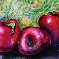 Three Apples by Emily Michaud