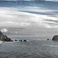 Three Arch Rocks National Wildlife Refuge Near Cape Meares Oregon by Christine Till