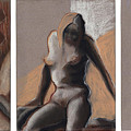 Three Figures - Triptych by Gideon Cohn