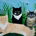 Three Furry Friends by Elizabeth Robinette Tyndall