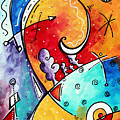 Tickle My Fancy Original Whimsical Painting by Megan Duncanson