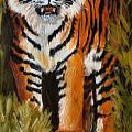 Tiger Wildlife Art by Mary Jo Zorad