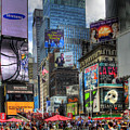 Times Square by Joe Paniccia