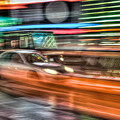 Times Square Traffic by Clarence Holmes