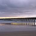 Tolaga Bay Pier by Andrea Cadwallader