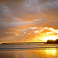 Tolaga Bay Pier IIi by Andrea Cadwallader