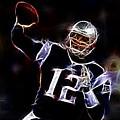 Tom Brady - New England Patriots by Paul Ward
