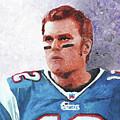 Tom Brady by William Bowers
